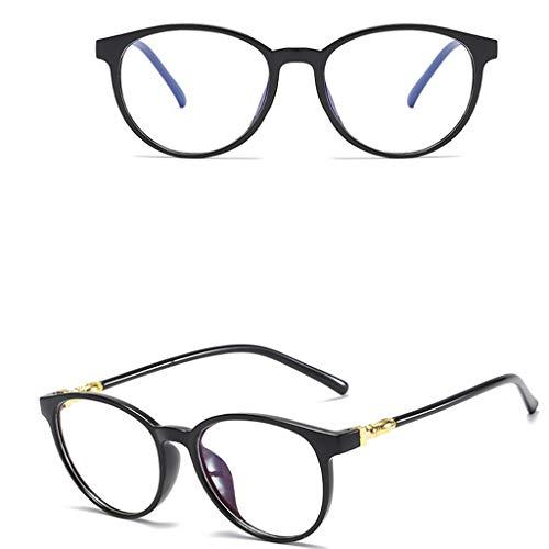 NINGSANJIN Sonnenbrille Unisex Stylish Square Brillen ohne Rezept. Brillen Klarglas Brillen BK