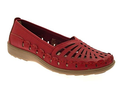 LD Outlet , Sandales pour femme Rouge - New Red