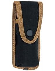 Pielcu - Etui Ceinture reglable en Cordura Noir Pielcu - pour Couteau pliant de 13 et 14 cm de manche