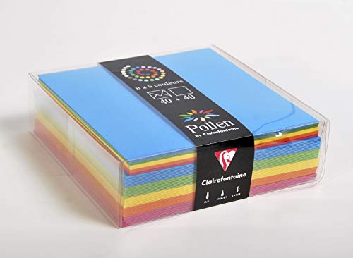 /Multi C6/Carte pour violoncelle/ Lot de 50/ rabat autoadh/ésif 40/mm /30/microns en cellophane pour jusqu/à 10/cartes et enveloppes C6 130/mm x 165/mm