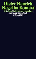 Hegel im Kontext (suhrkamp taschenbuch wissenschaft, Band 1938)