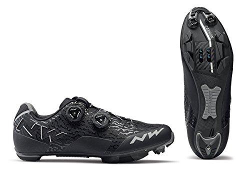Northwave Rebel Damen MTB Fahrrad Schuhe schwarz/grau 2018: Größe: 41