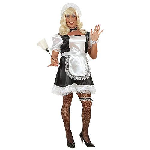 Kostüm Rocky Horror Mädchen - Widmann - Erwachsenenkostüm Stubenmädchen für Männer