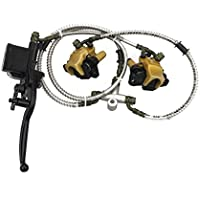 GOOFIT Vordere Scheibenbremse Bremsanlagen für 50cc 70cc 90cc 110cc 125cc ATV