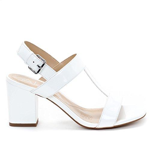 Alti Donna Amp;scarpe Icxxqxcfsw Alesya Scarpe X6tqu Bianco Sandali gv76IfYby