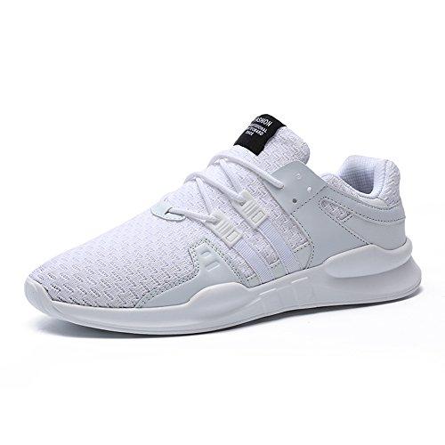 SPEEDEVE Uomo Scarpe da Sportive Corsa Ginnastica Sport e Tempo Libero Sneakers bianca