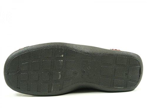 Rohde Damen Vaasa-d Pantoffeln Rot (Kiss 41)