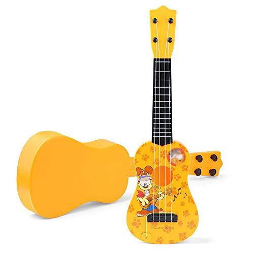 XHHWZB Juguete Guitar Rock Star Toy Guitar Instrumento Musical w/Guitar Pick Vibrant Colors Niños acústicos Niños Sonido Vibrante Ukulele Sonidos (Azul)