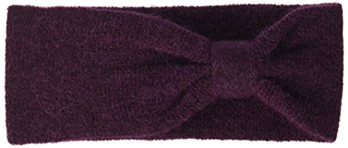 PIECES Damen PCJOSEFINE Wool Headband NOOS Stirnband, Rot Winetasting, One Size -