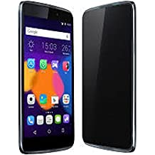 "Alcatel One Touch Idol 3 - Terminal libre (Android L, pantalla de 4.7"" HD, cámara de 13 MP, 8 GB, Quad Core 1.2 GHz, 1.5 GB de RAM), Gris oscuro"