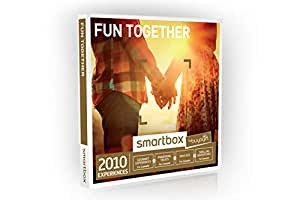Buyagift Fun Together Gift Experiences Box - 2010 Gift Experiences - For Couples, Pamper Day, Dinner for Two, Days Out, Spa Day, For Two, Afternoon Tea,