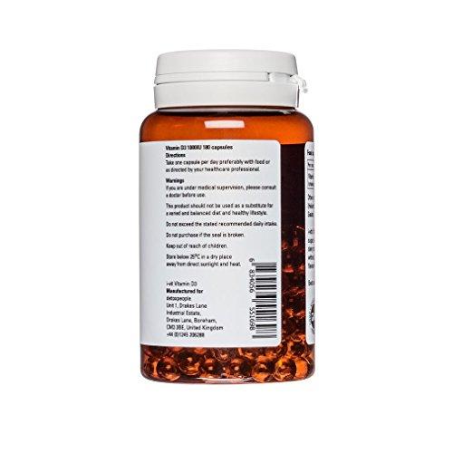 Vitamin D3 1000 IE - 180 softgels - i-vit (sojafrei) - 2