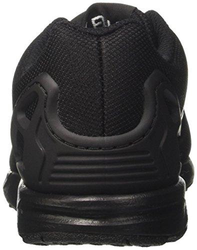 adidas Zx Flux J, Scarpe da Ginnastica Unisex – Bambini Nero (Core Black/core Black/core Black)