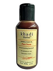 Khadi pure neem oil 100 ml