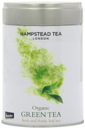 Hampstead Tea London - Organic Fairtrade Green Tea / Dose - 100g