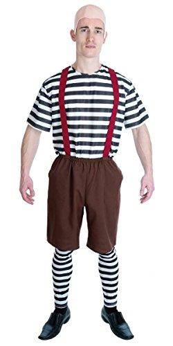 Kostüm Dee Tweedle Tweedle Dum (Kindergarten Zwilling - Adult)