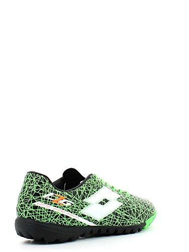 Lotto-Lotto zhero gravity VII 700 tf Chaussures de football Homme Vert R8181 Cuir Noir Noir - noir