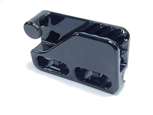 Bootskiste Clamcleat Fenderclips Tau Ø 8-12 mm in schwarz