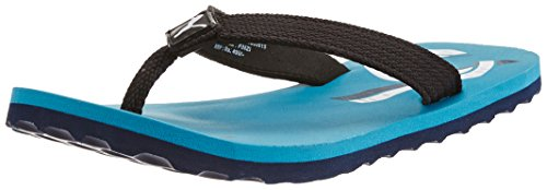 Puma Boy's Wave Jr DP. Capri Breeze-Peacoat-White Mesh Flip Flops and House Slippers - 13C UK  available at amazon for Rs.349