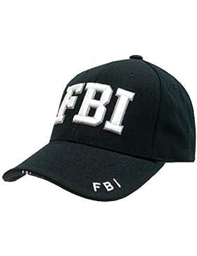Para hombre equipo de Mlitary negro life Venture  candado de SWAT FBI ejército de New solar sombrero Béisbol