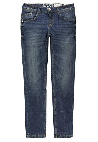 Lemmi Jungen Hose Jeans Boys Regular fit Slim Jeans, per Pack Blau (Blue Denim|Blue 0013), 128 (Herstellergröße: 128)