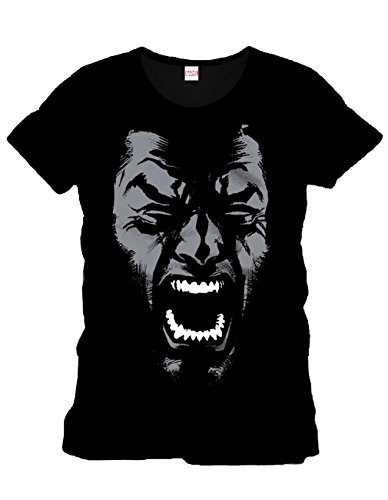 Marvel Comics Wolverine Uomo Fan T-Shirt-Rage nero XXL