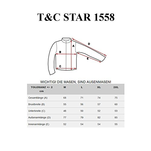 BOLF Kapuzenpullover Sweatshirt Hoodie Kapuze Pullover New T&C STAR 1558 Anthrazit