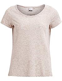 Object Hermine Damen T-Shirt mit Flügelärmeln und Runhals-Kragen | Shirt mit kurzen Ärmeln | Kurzarm Top mit Print bedruckt
