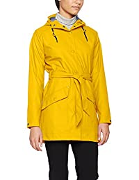 Helly Hansen Kirkwall Rain Abrigo, Mujer, Essential Yellow, XS
