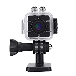 1080p Hd Portable Mini Infrared Waterproof Cube Action Camera Camcorder With Mounts