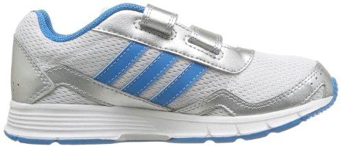 adidas Cleaser 2 Cf K, Chaussures de sports extérieurs garçon Blanc (Blanc/Blesol/Argm T)