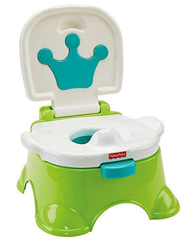 Fisher-Price Pot musical Royal Estrade pour bébé, transformable en marchepied, dès 3 ans, DLT00