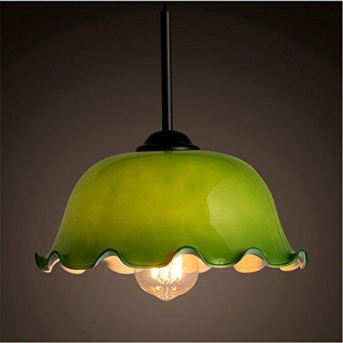CL-retro/Lustre d'intérieur Lustre/Retro Nostalgic Cafe Table à manger Lampadaire en verre Éclairage Lampes pratiques et durables