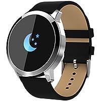 LCLrute Smartwatch Uhr Intelligente Armbanduhr Fitness Tracker Armband Sport Uhr mit Kamera Schrittzähler Schlaftracker Kompatibel mit Android Smartphone