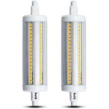 Lampadina LED R7S, Non Dimmerabile Illuminazione 118mm J118, 20 W Equivalenti a 200 W, Luce Bianca Calda 3000K, 360 Angolo Largo, 2 Pezzi