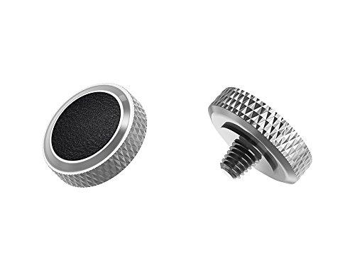 Ergonomischer Auslöser *Kupfer & Kunstleder* Auslöseknopf Soft Release Button für Fuji Fujifilm xt20 x 100f xt10 x-t2 x-pro2 x-pro1 X 100 X100s x100t x30 x 20 x10 x-e3 x-e2s (SRB-GR Black)