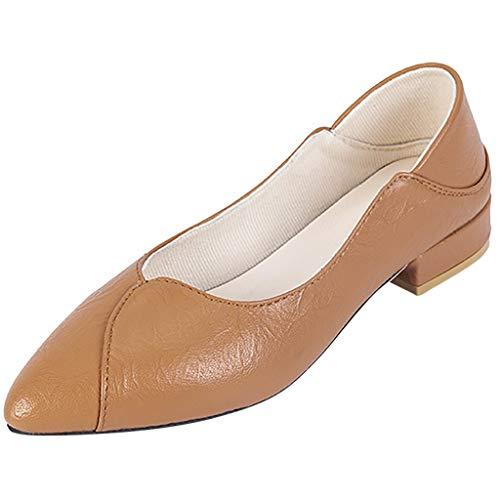 Ears Frauen Sommer Achuhe Arbeitsschuhe Pumps mit Spitzen Zehen Einzelne Schuhe Lässig Flach Breathable Tuch Schuhe Vintage Sandalen Elegant Strand Sandalen Lässige Sportschuhe Laufschuhe