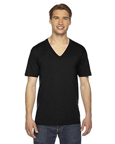 american-apparel-camisa-casual-vestir-para-hombre-negro-negro-m