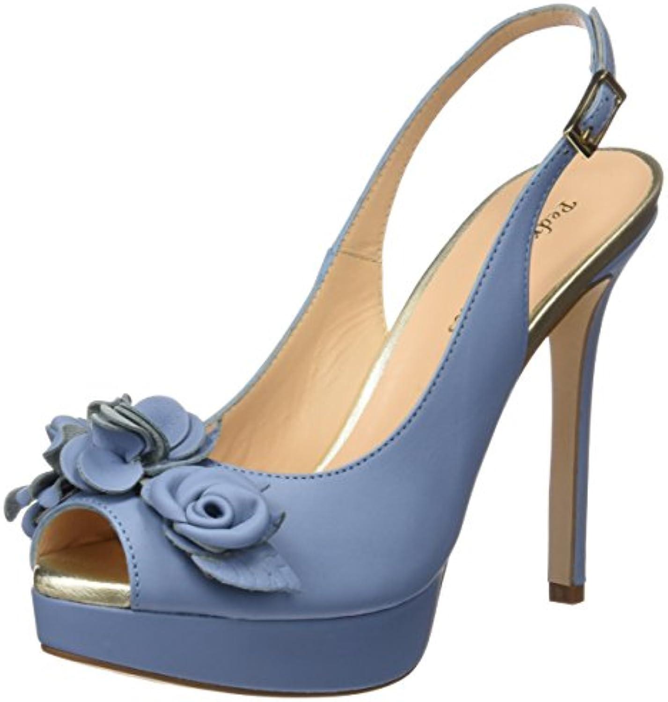 Pedro MIRALLES 19480, Zapatos de Tacón con Punta Abierta para Mujer -