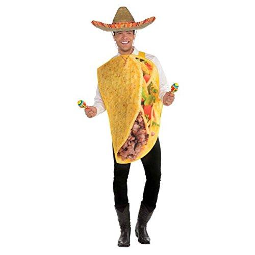 Amscan 8400079 Costume Kostüm, Mehrfarbig
