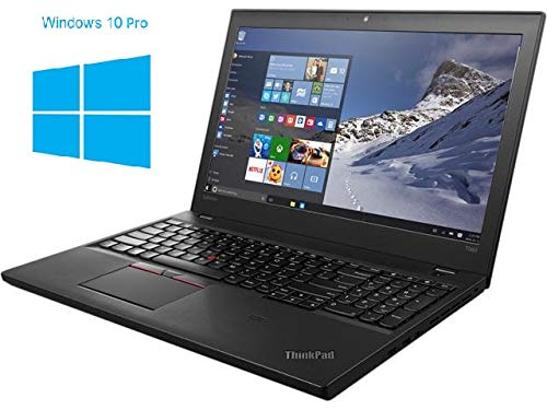 Lenovo ThinkPad T560 Notebook / Laptop | 15.6 Zoll Display | Intel Core i7-6600MQ @ 2,6 GHz | 8GB DDR3 RAM | 256GB SSD | ohne DVD-Laufwerk | Windows 10 Pro (Zertifiziert und Generalüberholt)