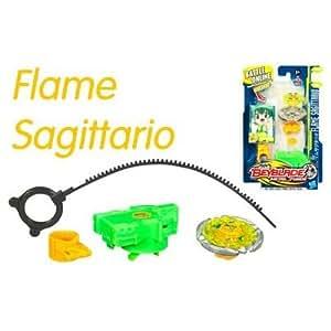 Toupie Beyblade porte cle flame sagittario