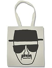 Breaking Bad Heisenberg Bolsa De La Compra Para Comestibles | Shopping Bag For Groceries