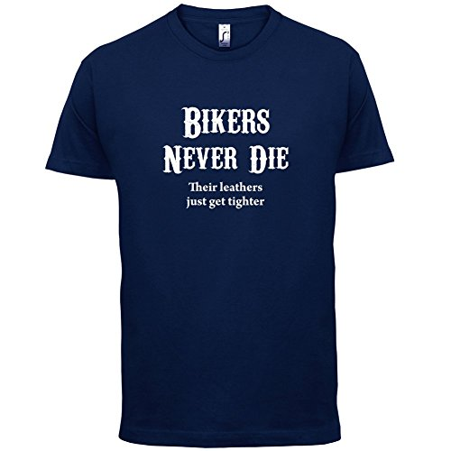 Bikers Never Die - Herren T-Shirt - 13 Farben Navy