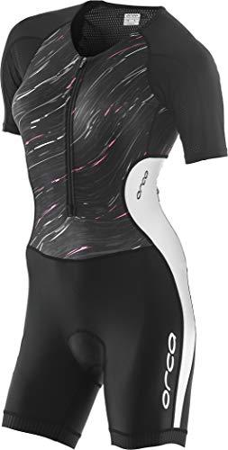 Orca Core SS Race Suit Women Black-White Größe XL 2019 Triathlon-Bekleidung