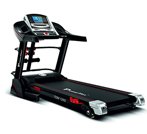 Powermax Fitness TDM125S 2HP (4HP peak) Motorized Treadmill, Auto-lubrication