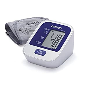 OMRON M2 Basic Tensiomètre Bras Électronique, détection de pulsations cardiaques irrégulières, technologie IntelliSense pour une mesure précise et confortable