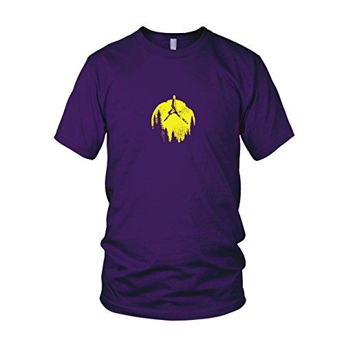 SW: Endor Flight - Herren T-Shirt, Größe: XXL, Farbe: ()