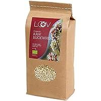 Semillas de Trigo Sarraceno Orgánico Crudo Sin Gluten, 1 kg, Sin Tratamiento Térmico, Todos Los Nutrientes Se Conservan, Cultivado Orgánicamente en Climas Nórdicos, Sin OGM