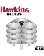 Hawkins Mini Idli Stand for Pressure Cooker-Silver, 3-Litre (Maked 12 Small Idlis)